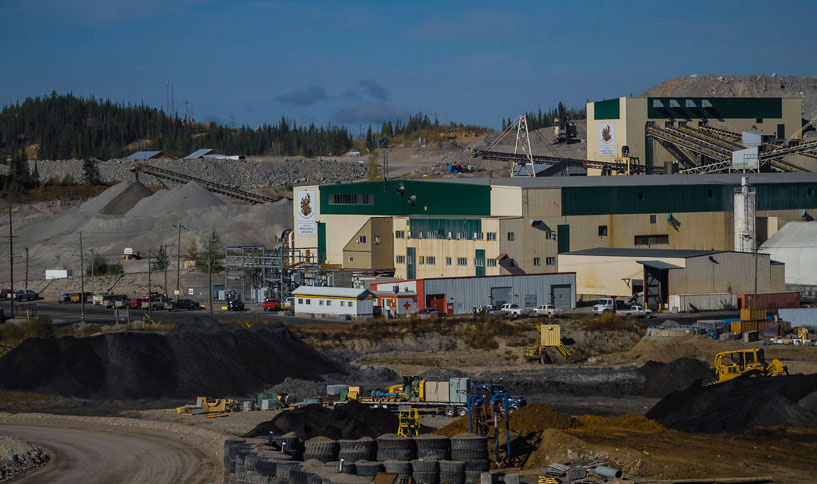 Mount Polley is an open pit copper/gold mine with a developing underground project, located in south-central British Columbia. PHOTO: Imperial Metals Corp.