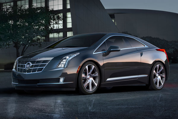 Cadillac is giving ELR customers in Canada free 240-volt home charging stations. PHOTO GM Canada