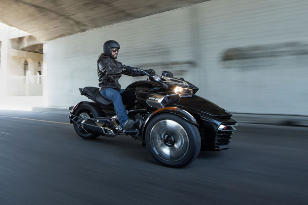 The mid-range 2015 Can-Am Spyder F3. PHOTO BRP