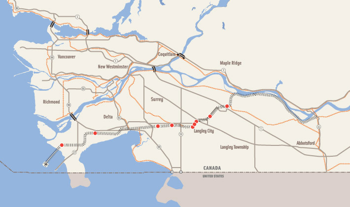 Roberts Bank Rail Corridor PHOTO RBRC