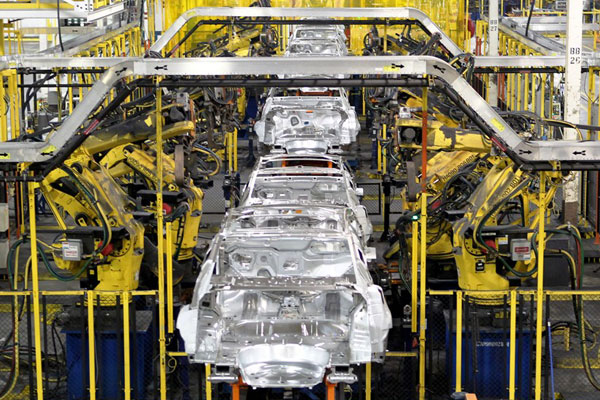 The Chevrolet Cruze is built at GM's assembly plant in Lordstown, Ohio. PHOTO GM