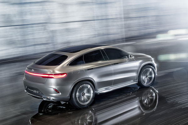 Mercedes said it will build a new vehicle, based on its Concept Coupe SUV, at its Alabama plant. PHOTO Daimler