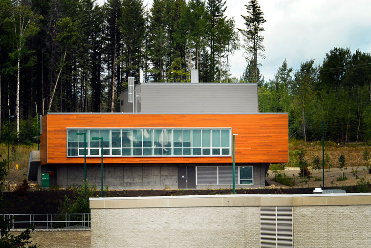 UNBC Bioenergy plant. PHOTO UNBC.
