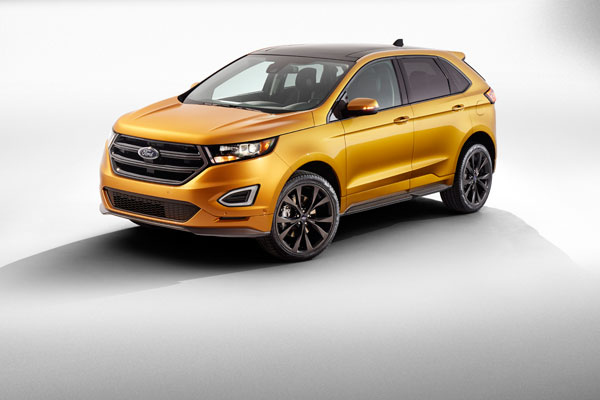 The redesigned 2015 Ford Edge will be built at Ford's plant in Oakville, Ont., for markets around the world. PHOTO Ford