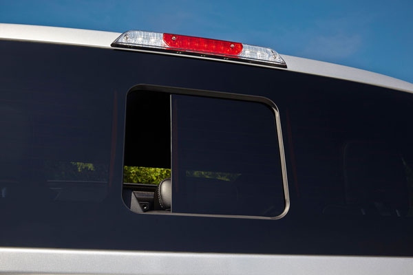 Magna's PureView seamless sliding rear window will debut on the 2015 Ford F-150. PHOTO Magna