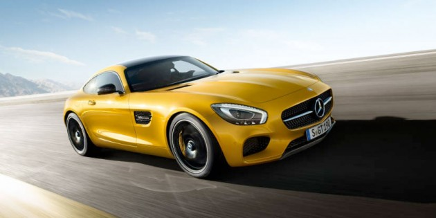 The Mercedes-AMG GT S has 510 hp and goes from zero to 100 km/h in 3.8 seconds. PHOTO: Daimler