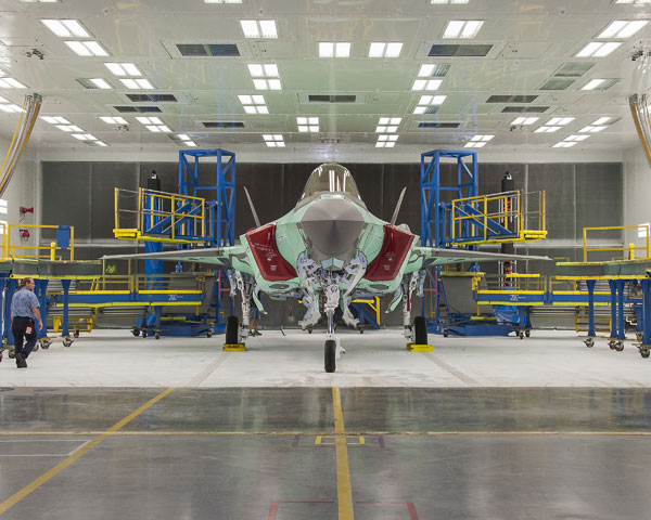 The first Australian F-35 built by Lockheed Martin. PHOTO Lockheed Martin