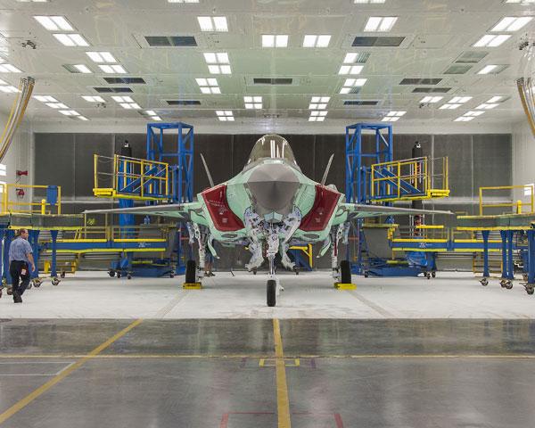 The first Australian F-35 built by Lockheed Martin. PHOTO Lockheed Martin