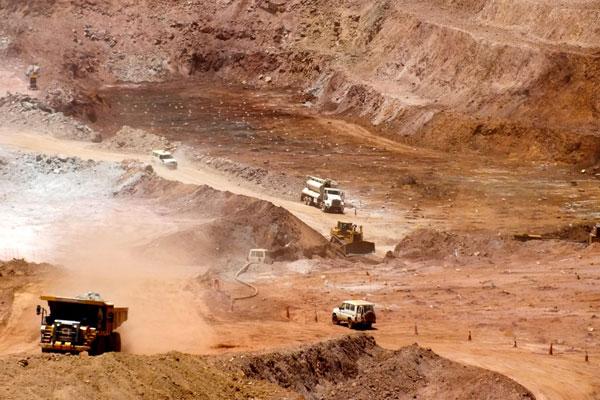Nevsun's Bisha Mine in Eritrea. PHOTO Nevsun