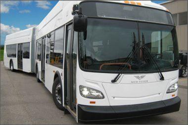 New Flyer's Xcelsior bus. PHOTO New Flyer