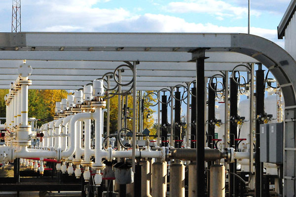 Pembina's natural gas facility in Valleyview, Alta. PHOTO Pembina