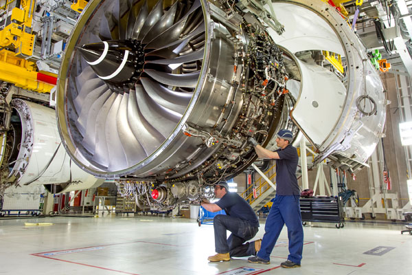 Rolls-Royce is axing 2,600 jobs across its operations. PHOTO Rolls-Royce