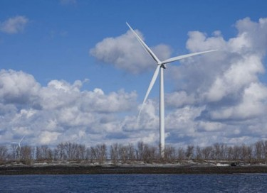 Pattern Energy and the Henvey Inlet First Nation have signed an agreement to develop a 300-megawatt wind energy project. PHOTO Pattern