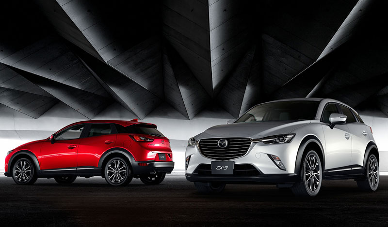 The 2015 mazda CX-3 should hit showrooms in Canada in the summer of 2015