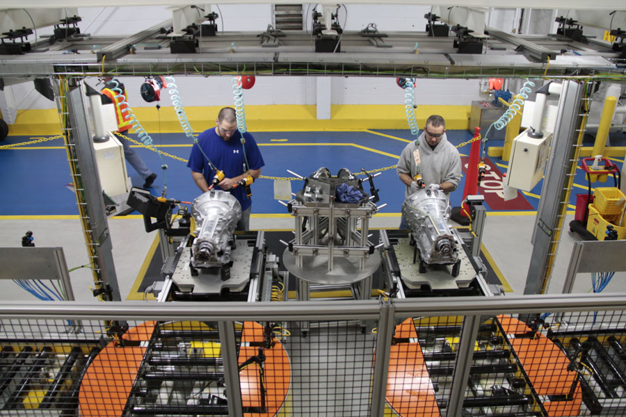 FCA US is investing US$266 million in its Kokomo, Ind., transmission plant. PHOTO FCA