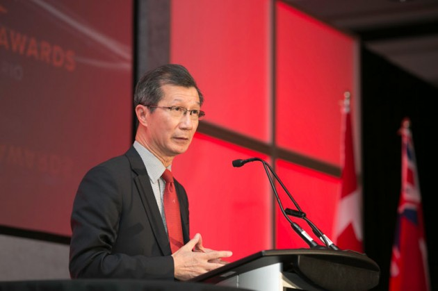 Ontario's Minister of citizenship, immigration and international trade Michael Chan