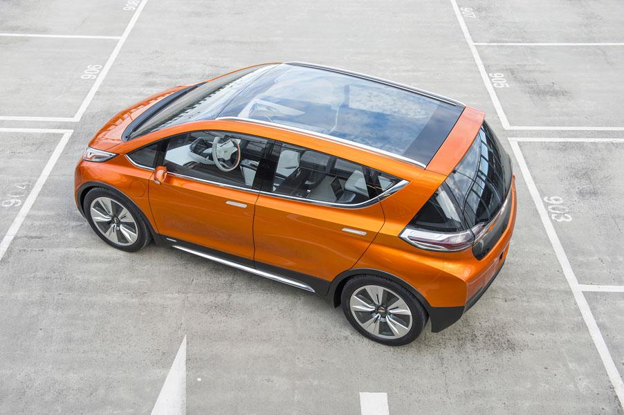 Chevrolet Bolt concept. PHOTO GM