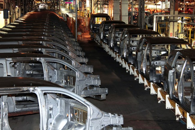 FCA's plant in Windsor, Ont., is home to production of the automaker's minvans. PHOTO FCA