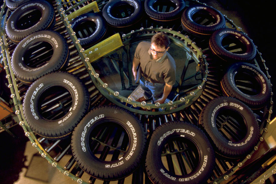 GM halts sales of some large SUVs after Goodyear recalls tires