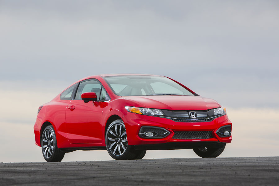 The Honda Civic is built at in Alliston, Ont. PHOTO Honda