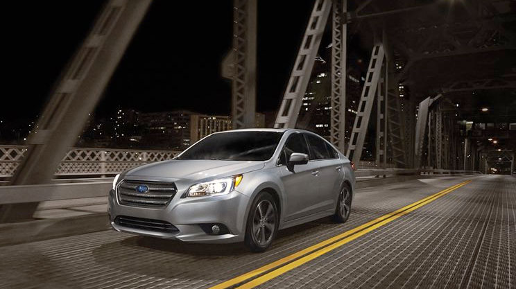 The 2015 Subaru Legacy has been named the 2015 Canadian Car of the Year. PHOTO: Subaru