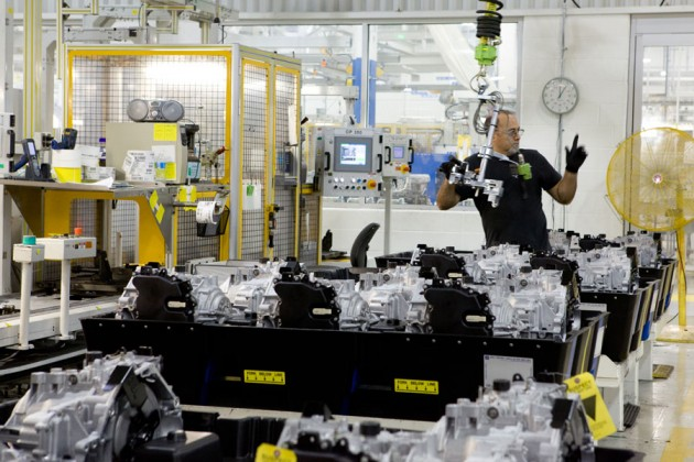 GM's powertrain plant in St. Catharines, Ont. PHOTO GM