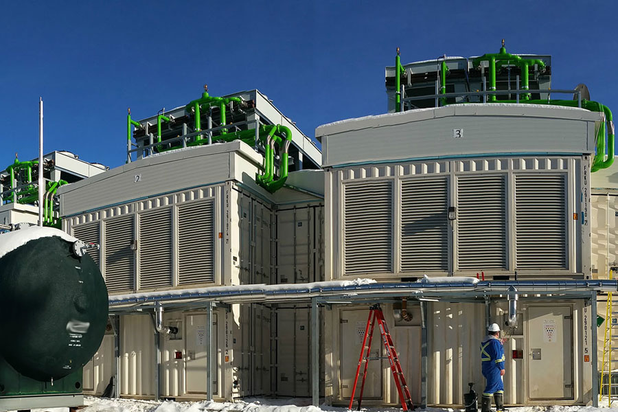 genalta project in alberta generating electricity from