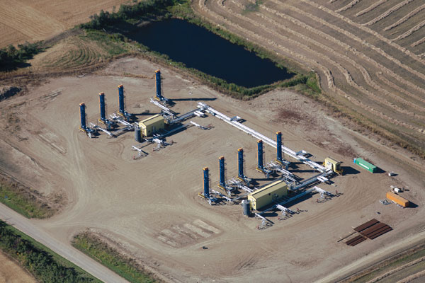Husky Energy's Pikes Peak South heavy oil site in Saskatchewan will play host to a carbon capture demonstration plant. PHOTO Husky Energy