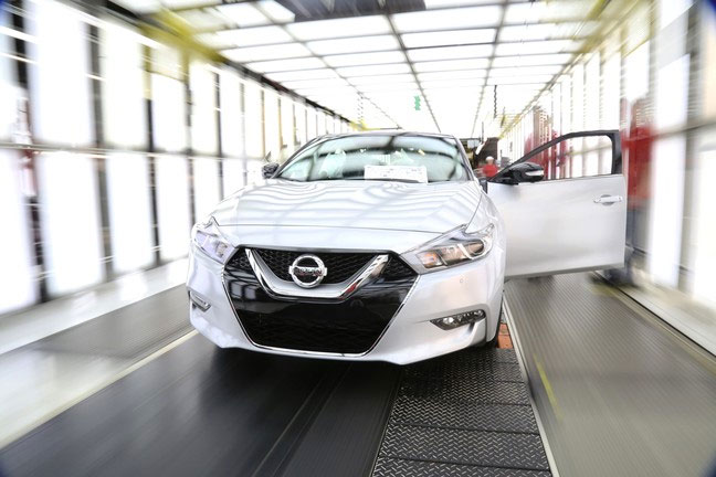 The new Nissan  Maxima combines 300-horsepower performance with a bold exterior design and premium interior. PHOTO: Nissan