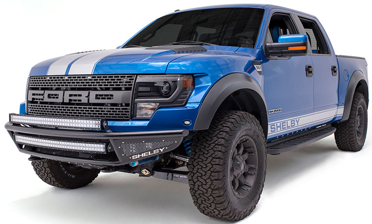 700 horsepower makes the Shelby Raptor the most powerful production Shelby truck in history. PHOTO: Shelby American