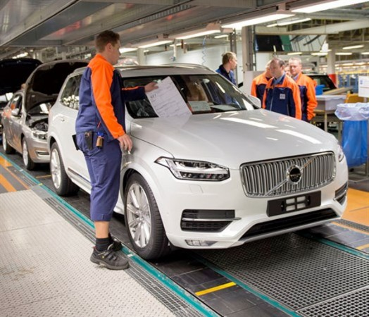 volvo invests additional us$500m to build xc90 luxury suv at s.c.