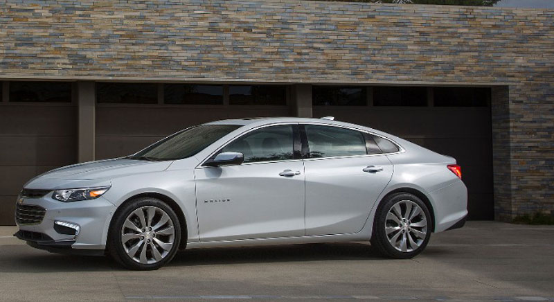 The 2016 Malibu uses new structural steel, making it 300 pounds lighter than the current model