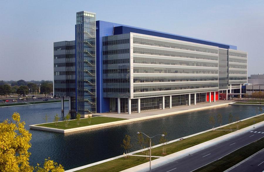 GM's sprawling Warren Technical Center. PHOTO: General Motors Co.
