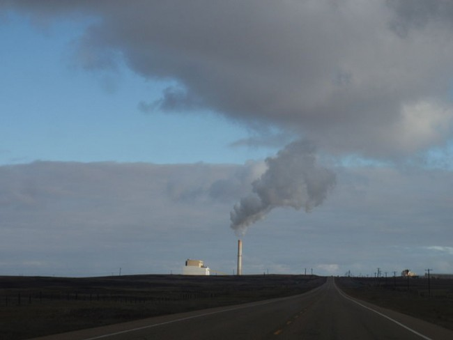 The 760-MW Sheerness coal generating station, located southeast of Hanna, Alta. PHOTO Paul Jerry, via Wikimedia Commons