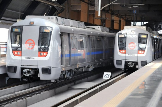 Bombardier Wins Contract to Provide 162 MOVIA Vehicles to India's Delhi Metro. PHOTO Bombardier Inc.