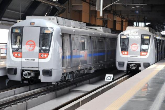 Bombardier Wins Contract to Provide 162 MOVIA Vehicles to India's Delhi Metro. PHOTO Bombardier Inc.