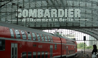 Bombardier's aviation troubles continue while its transportation division has penned several major contracts so far this year. PHOTO: By Geogast, via Wikimedia Commons