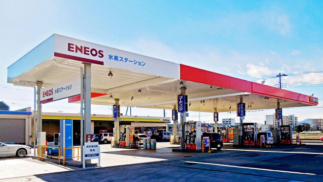 Hydrogen Station in Ebina City, Japan. PHOTO Toyota Motor Corporation