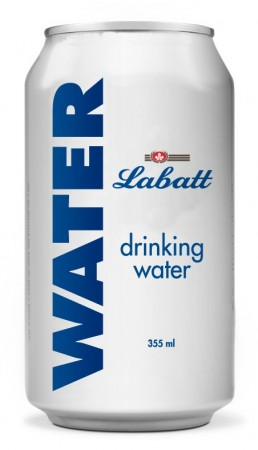 Labatt is providing 48,000 cans of emergency drinking water to the residents and fire fighters affected by forest fires in Saskatchewan, British Columbia and Alberta. PHOTO Labatt