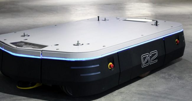 ClearPath Robotics's new Silverback will be capable of autonomously moving palettes as heavy as 3,000 kilograms. PHOTO ClearPath Robotics