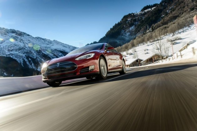 Tesla Motors's Model S. PHOTO: Tesla
