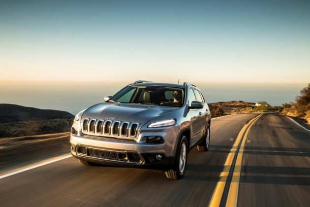 The vulnerability was first revealed in a 2014 Jeep Cherokee earlier this month. PHOTO: Fiat Chrysler Automobiles