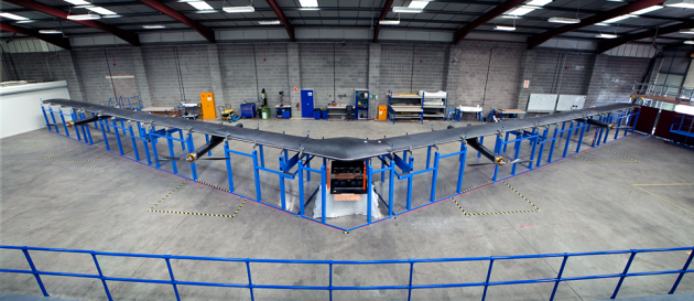 Facebook's Aquila drone will begin flight testing as it prepares to bring Internet to remote areas. PHOTO: Facebook