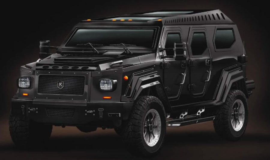 Canadian armoured vehicle maker combines bling with bang - Canadian Manufacturing