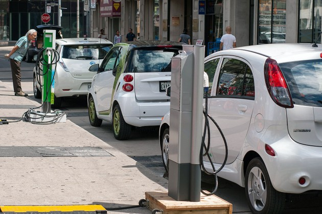 The availability and variety of vehicles is one of the main determinant influencing the adoption of electric and hybrid vehicles in Canada. PHOTO: Plug'n Drive, via Wikimedia Commons