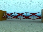 Rendering of Kepler Energy's tidal turbine. The company says the technology performs best in relatively shallow, low-velocity waters. PHOTO: Kepler Energy