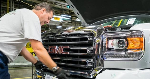 General Motors will invest US$877 million in Flint Assembly as part of its $5.4 billion 2015 investment plan. PHOTO: General Motors