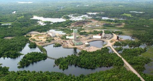 First Nickel's Lockerby mine inlocated soutwest of Sudbury in northern Ontario. PHOTO: First Nickel