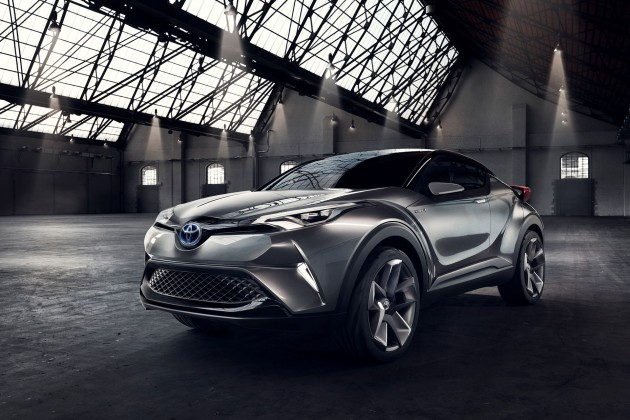 Toyota's updated C-HR concept. The company hopes to have a production-ready model on display early next year. PHOTO: Toyota