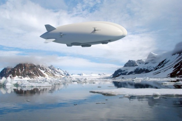 Rendering of Lockheed Martin's Hybrid Airship. The company has a fully-functional demonstrator and is currently pursuing buyers.  PHOTO: Lockheed Martin
